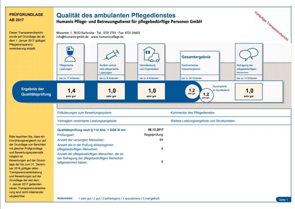 MDK-Prüfbericht-2017