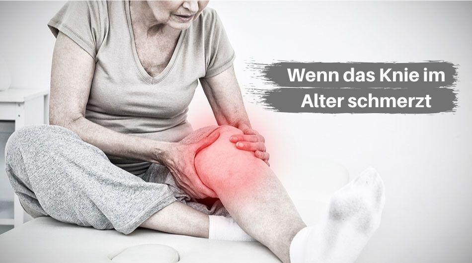 Künstliches Kniegelenk wenn das Knie schmerzt
